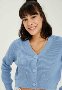 DeFacto - CROPPED - Cardigan - blue - 3