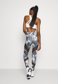 Even&Odd active - Leggings - light blue/multi-coloured