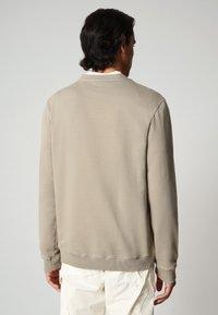 Napapijri - BALIS - Sweater - silver sage - 1