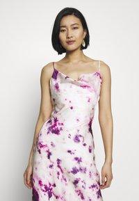 Bardot - TIE DYE SLIP DRESS - Maxi dress - purple - 5
