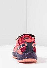 Salomon - XA PRO 3D - Hiking shoes - cerise/acai/bird of paradise - 4