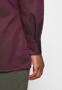 OLYMP - Luxor - Zakelijk overhemd - bordeaux - 3