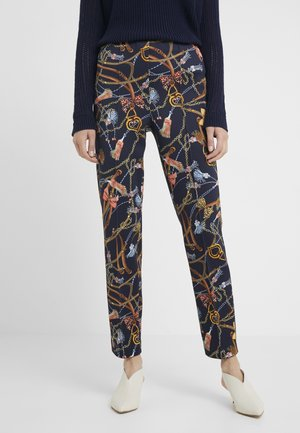 Pantalones - deep blue