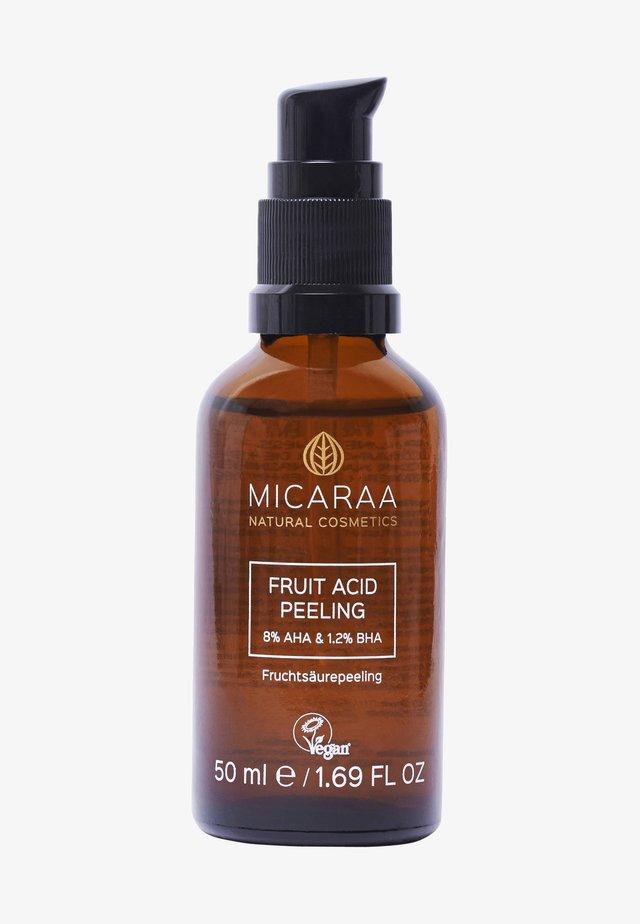 FRUIT ACID PEELING - Face oil - -
