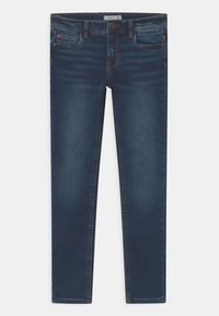 Name it - NKMTHEO  - Slim fit jeans - dark blue denim - 0
