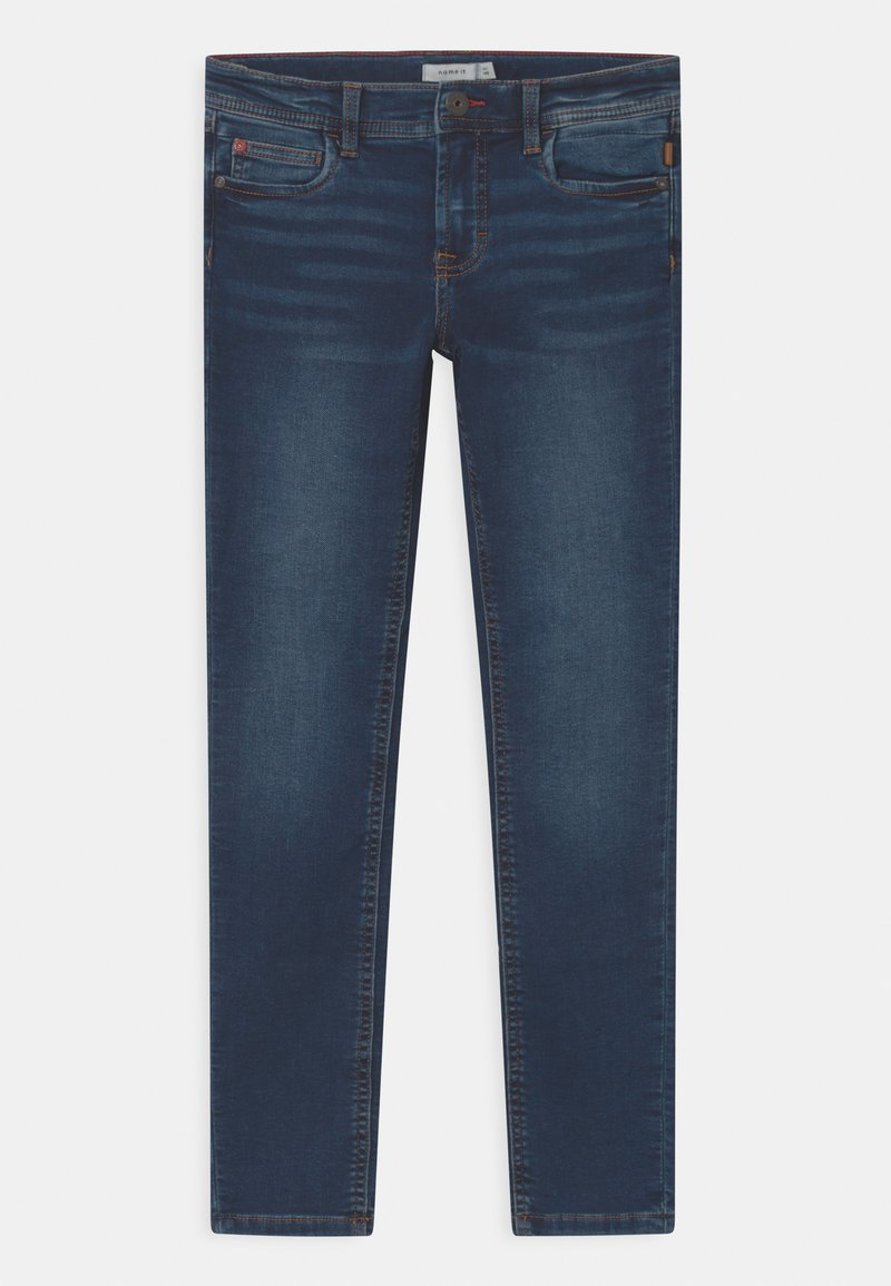 Name it - NKMTHEO  - Slim fit jeans - dark blue denim