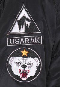 Alpha Industries - HOODED ARCTIC - Winter jacket - black - 4