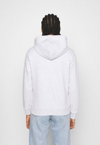 Tommy Jeans - LINEAR LOGO HOODIE - Sweat à capuche - silver grey heather - 2