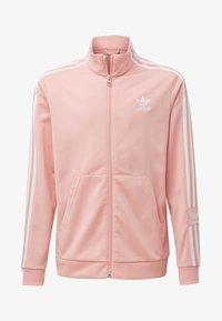 adidas Originals - TRACK TOP - Hoodie met rits - glory pink - 0