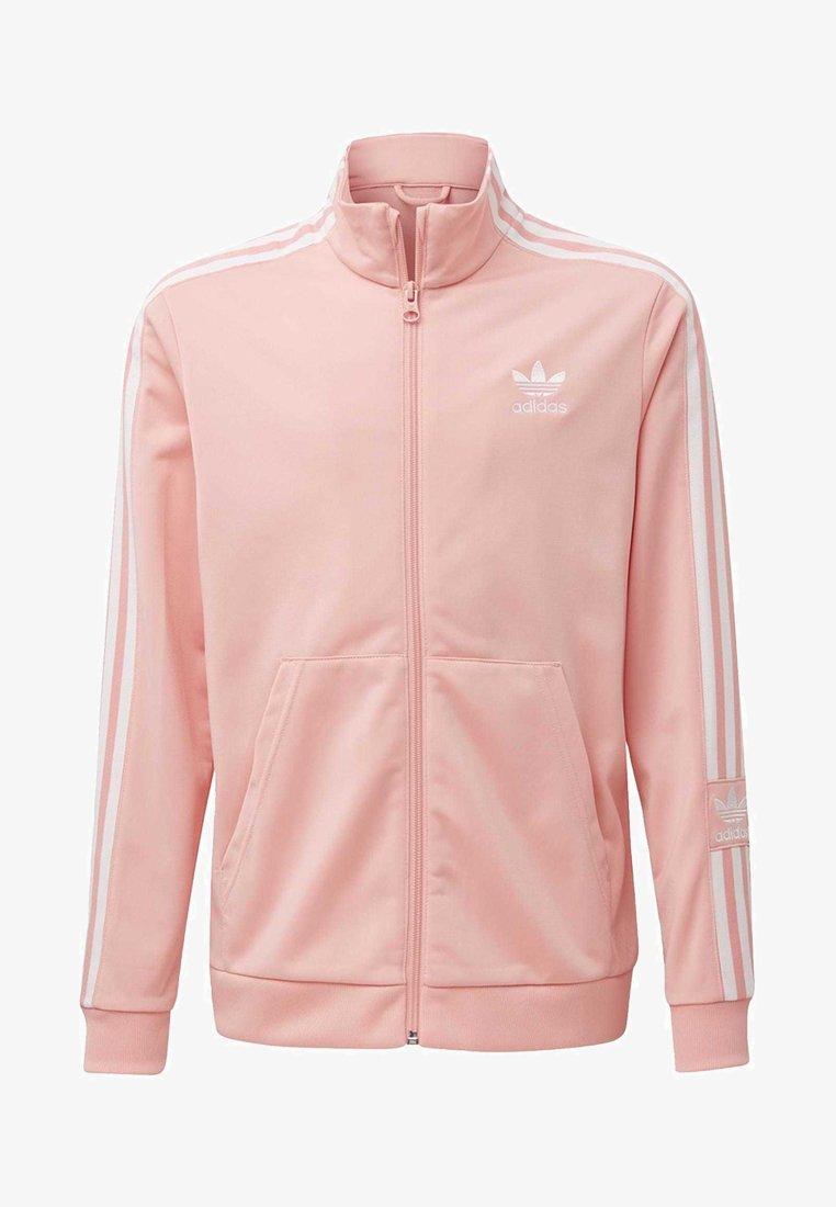 adidas Originals - TRACK TOP - Hoodie met rits - glory pink