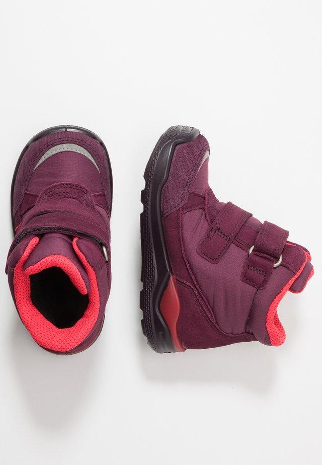 URBAN MINI - Baby shoes - mauve/aubergine