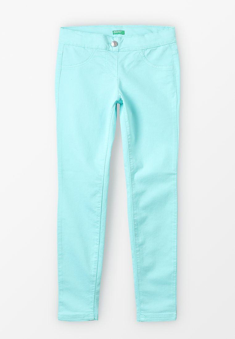 Benetton - TROUSERS - Jeans Skinny - turquoise