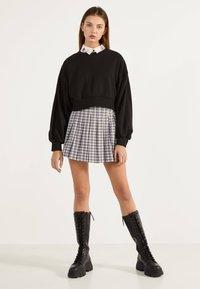 Bershka - Áčková sukně - mauve - 1