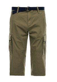 s.Oliver - LOOSE FIT - Shorts - khaki - 0