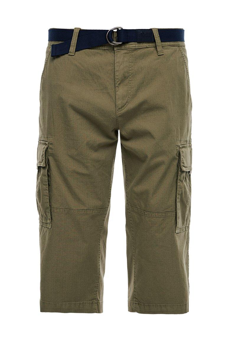 s.Oliver - LOOSE FIT - Shorts - khaki