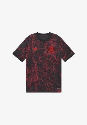 FEF SPANIEN PRESHI Y - T-shirt sportiva - black