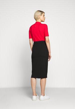 DIFANI - Pencil skirt - black