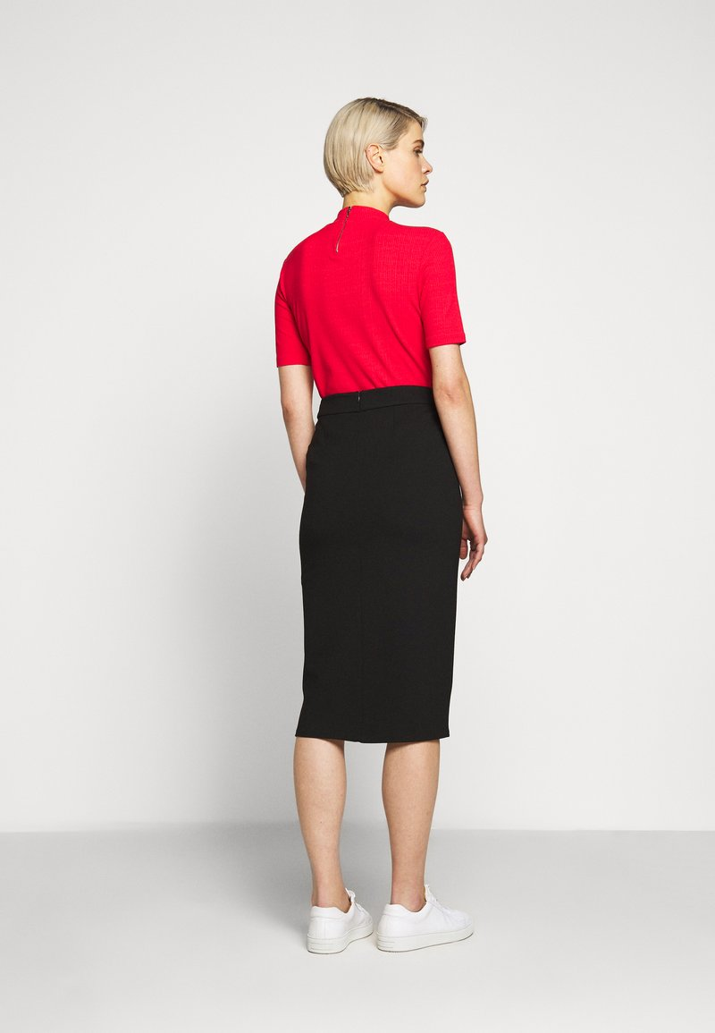 HUGO - DIFANI - Pencil skirt - black