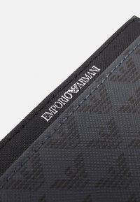 Emporio Armani - CARD HOLDER UNISEX - Wallet - black - 3