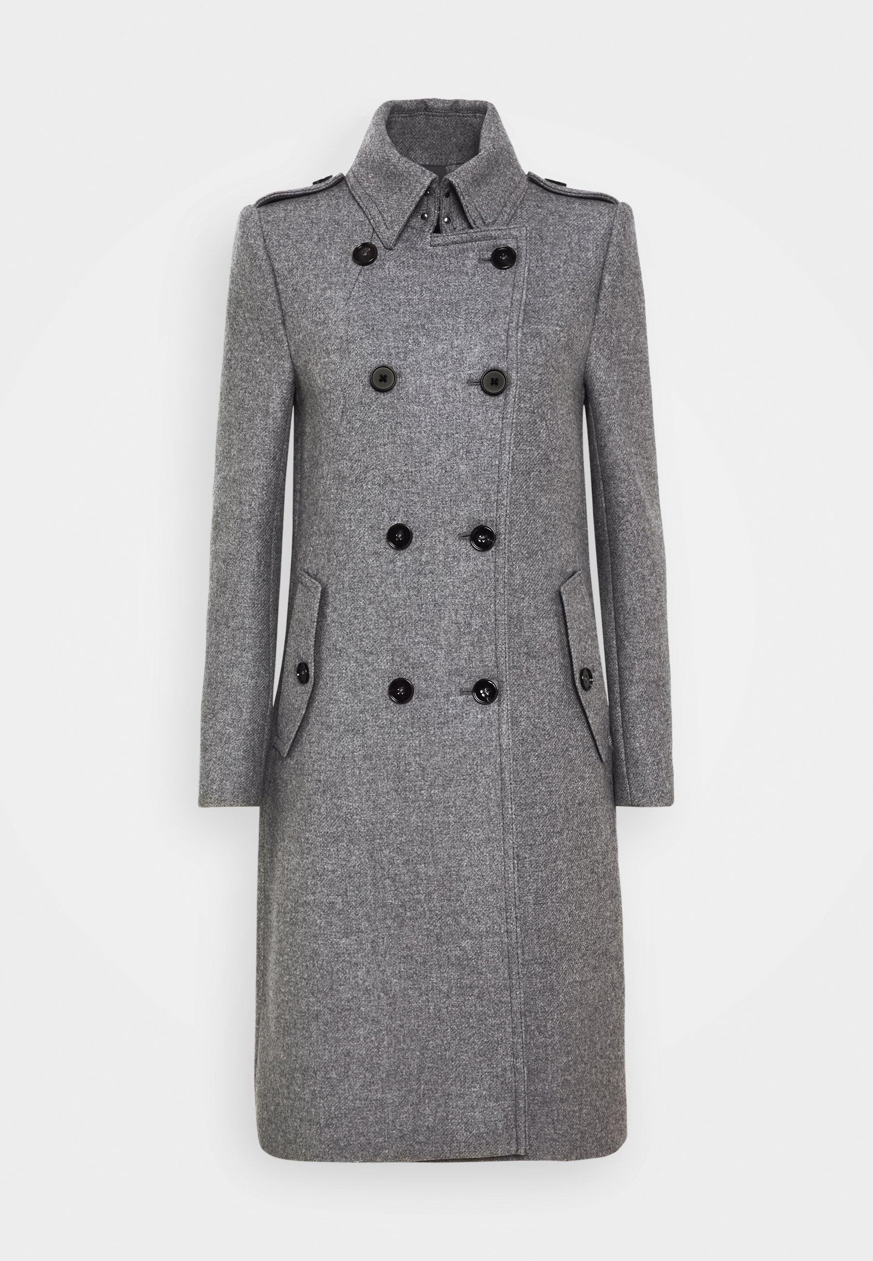 HARLESTON Mantel grau