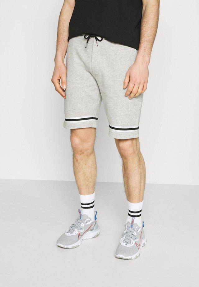 ASHLEY - Shorts - grey melange