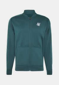 SIKSILK - CRUSHED  JACKET - Giubbotto Bomber - ocean green - 3