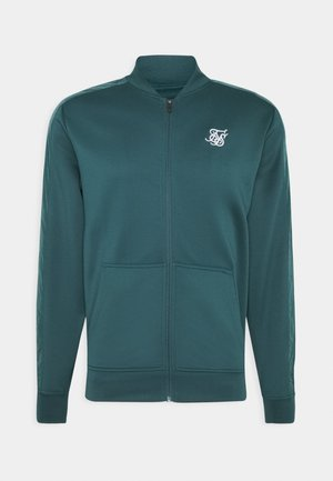 CRUSHED  JACKET - Bomberjacka - ocean green