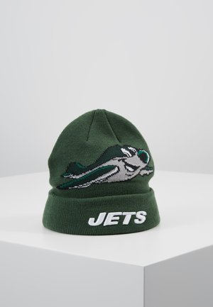 INFANT MASCOT CUFF NEW YORK JETS - Beanie - green