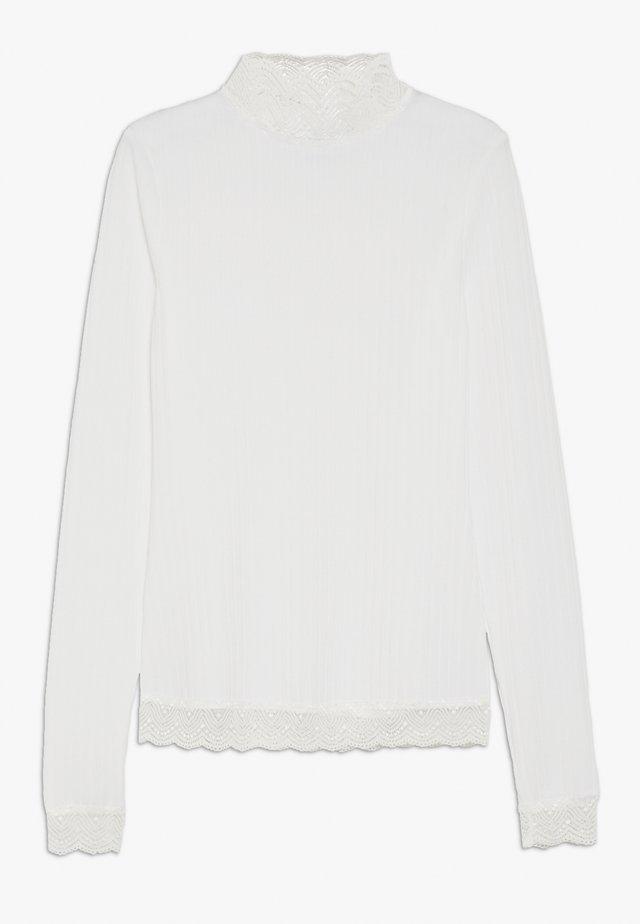 SELINA - T-shirt à manches longues - white