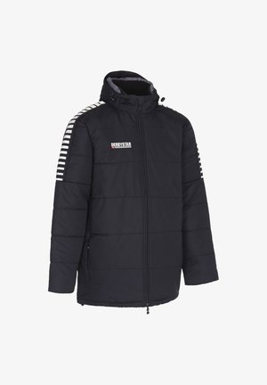 Winter jacket - schwarzweiss