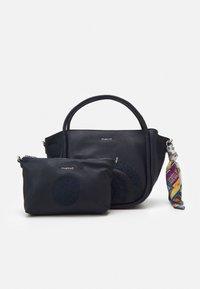 Desigual - BOLS ALESSIA ROTTUM SET - Handbag - azul - 3
