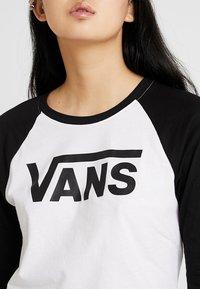 Vans - Long sleeved top - white/black - 4