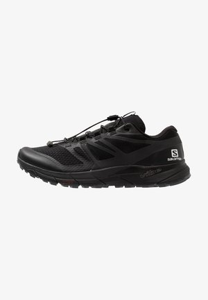 SENSE RIDE 2 - Běžecké boty do terénu - black/phantom/ebony