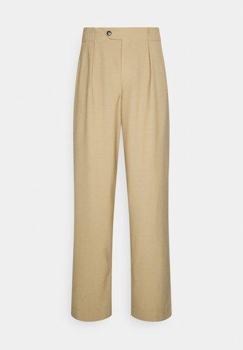 MAWSON - Trousers - sandstone