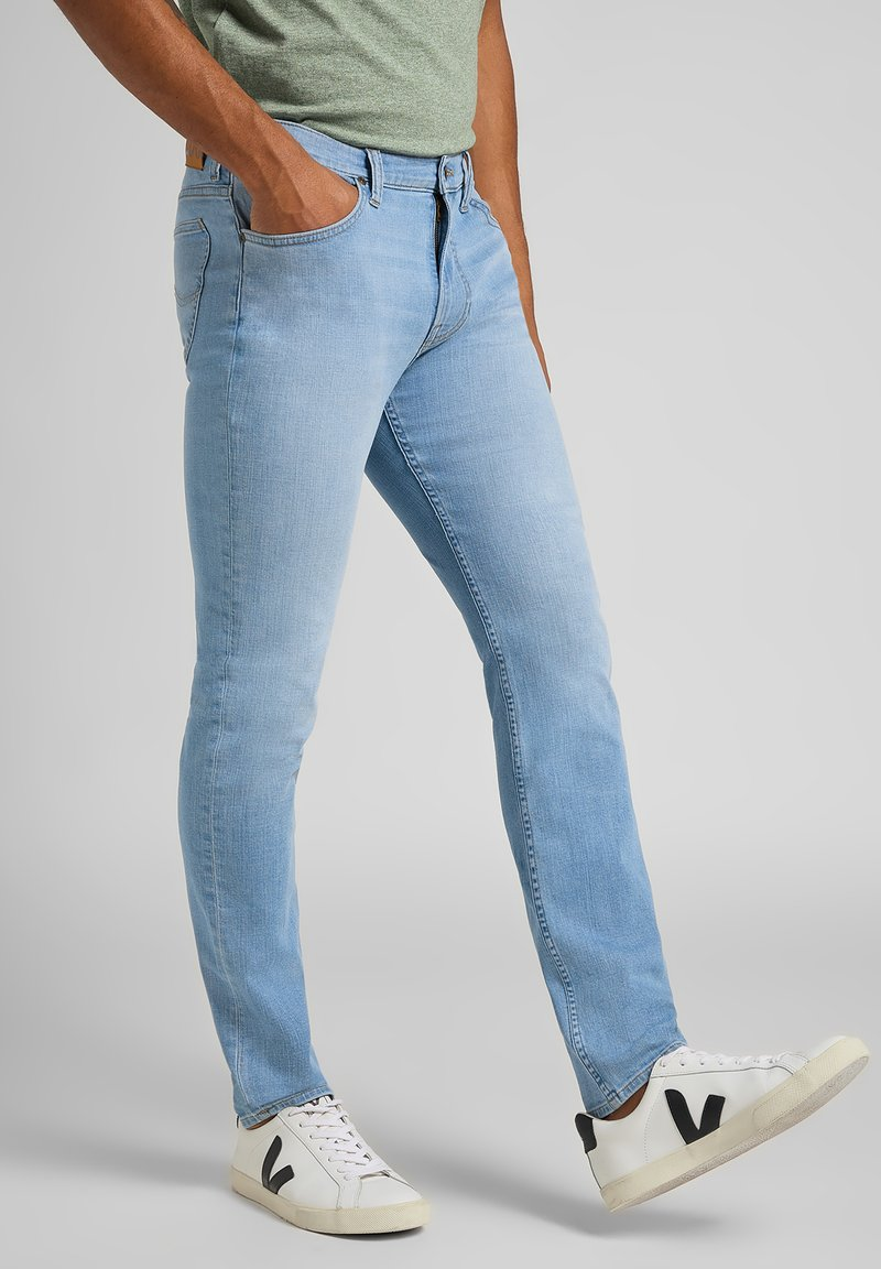 Lee - RIDER - Slim fit jeans - bleached cody