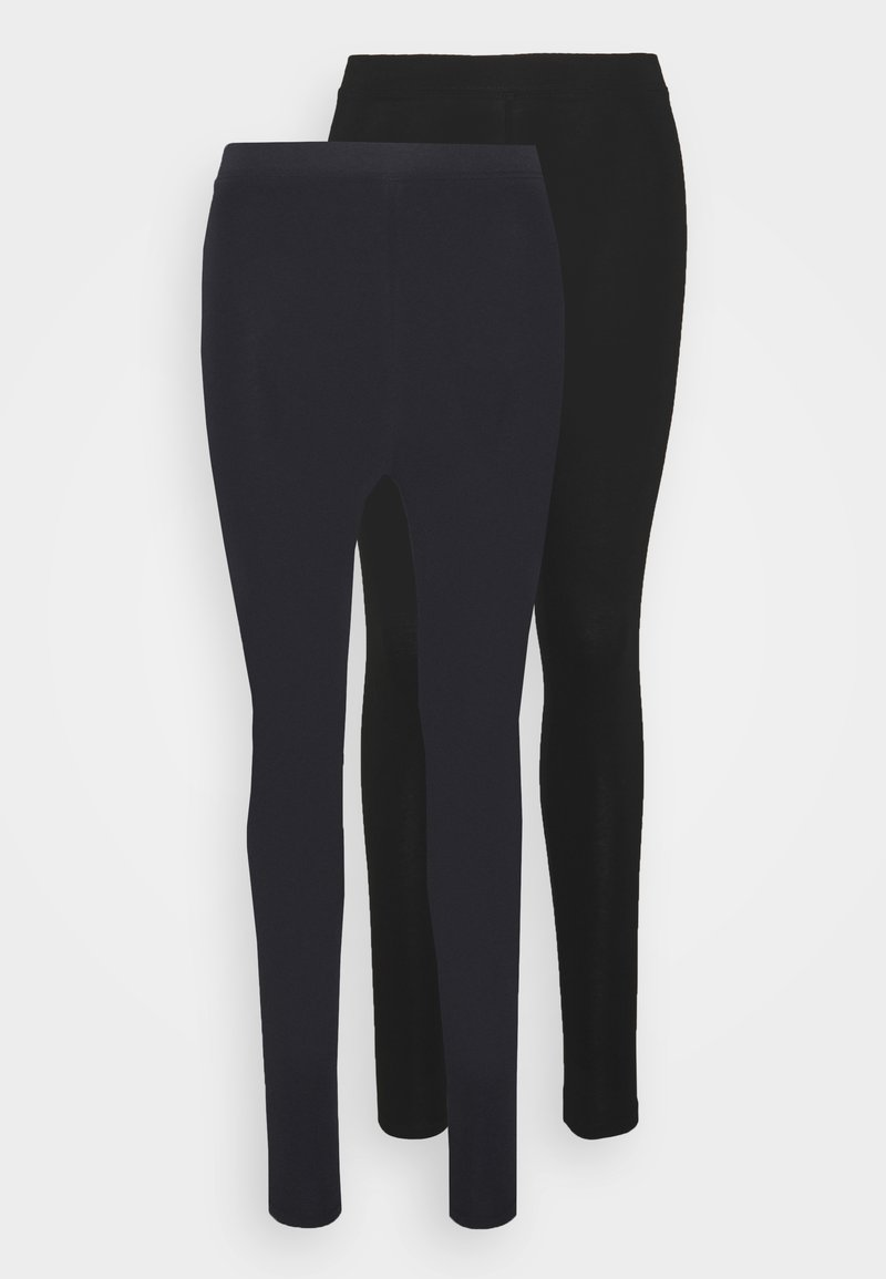 Marks & Spencer London - 2 PACK - Leggings - dark blue/black