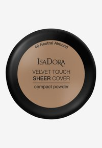 IsaDora - VELVET TOUCH SHEER COVER COMPACT POWDER - Powder - neutral almond - 2