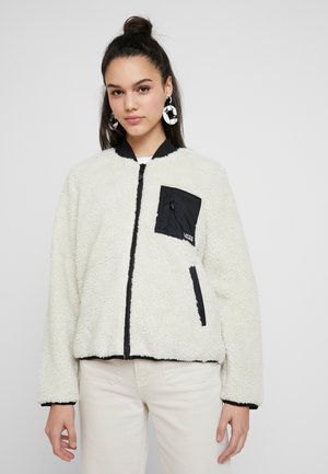 MISTY FOG JACKET - Bomber Jacket - bone white