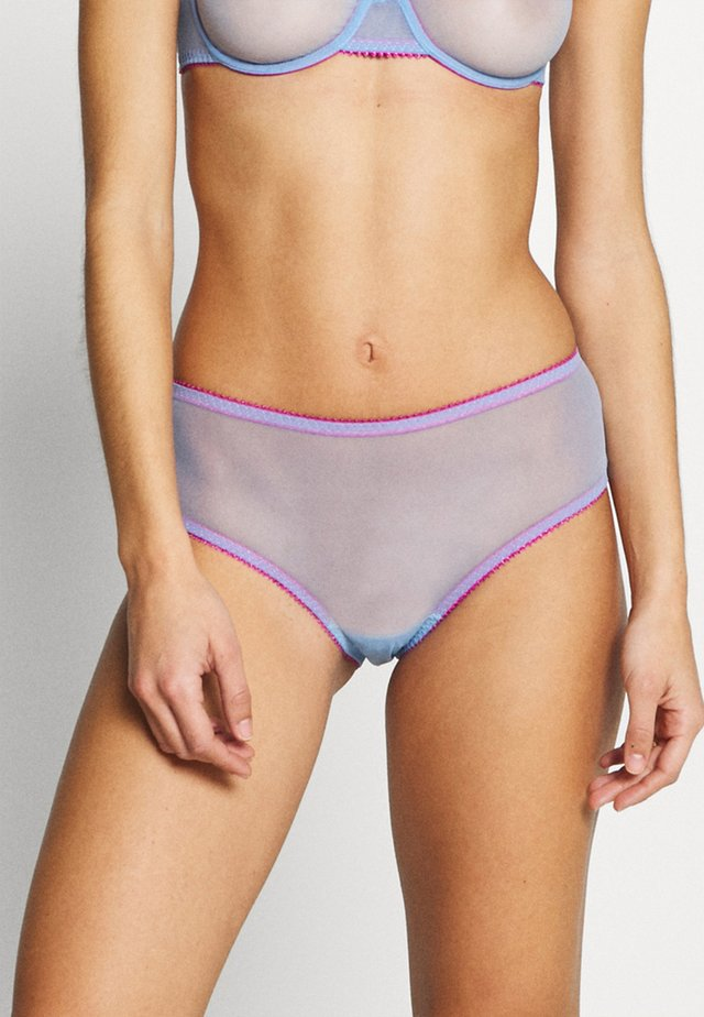 HIGH WAIST KNICKER - Onderbroeken - cornflower