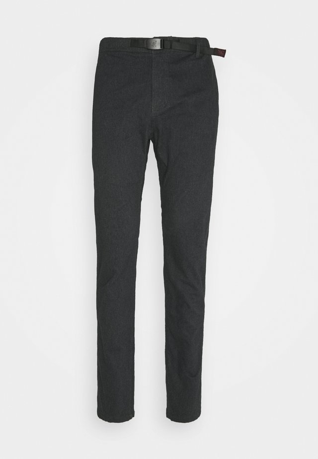NN-PANTS SLIM - Chinos - heather charcoal