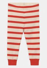 Mini Rodini - STRIPE UNISEX - Leggings - Trousers - red - 1
