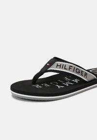 Tommy Hilfiger - MARITIME BEACH  - T-bar sandals - black - 6