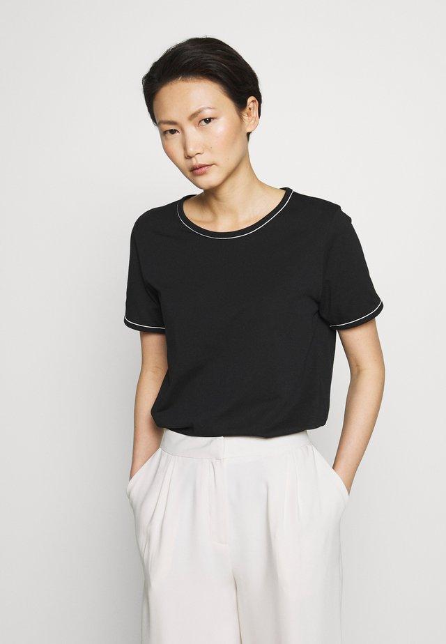 KALLY ELSA TEE - Basic T-shirt - black