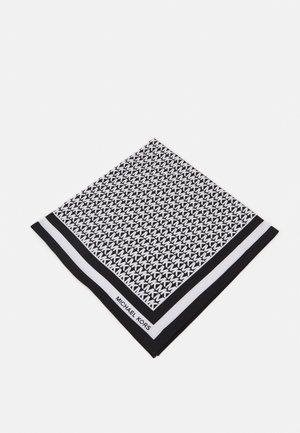 LOGO SCARF - Foulard - black/white