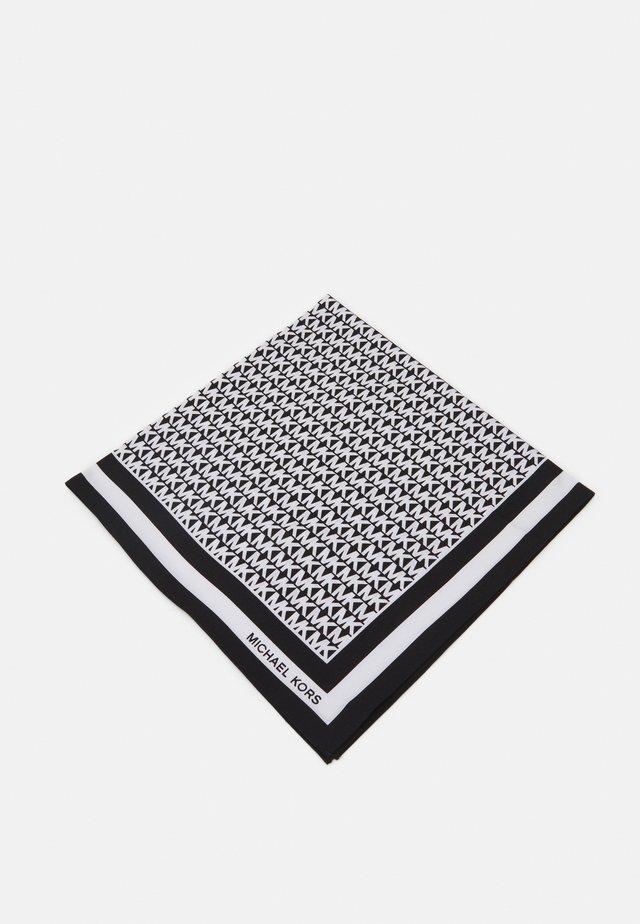 LOGO SCARF - Tuch - black/white