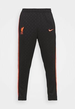 LIVERPOOL FC PANT - Trousers - black/bright crimson
