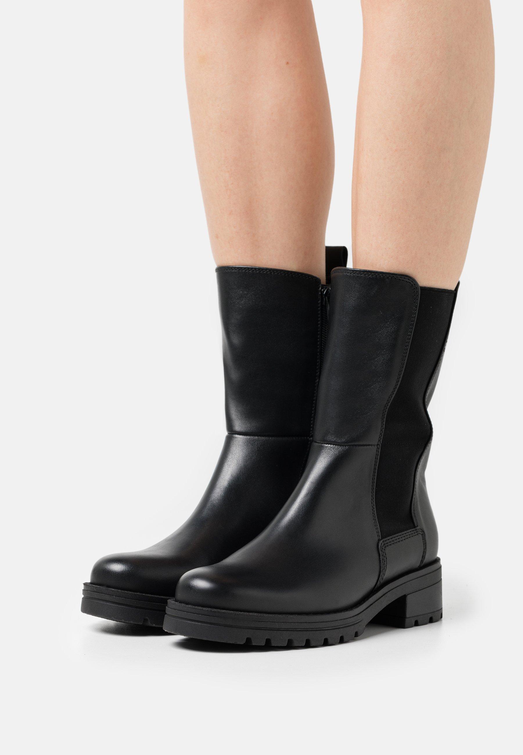 Women Platform boots - schwarz