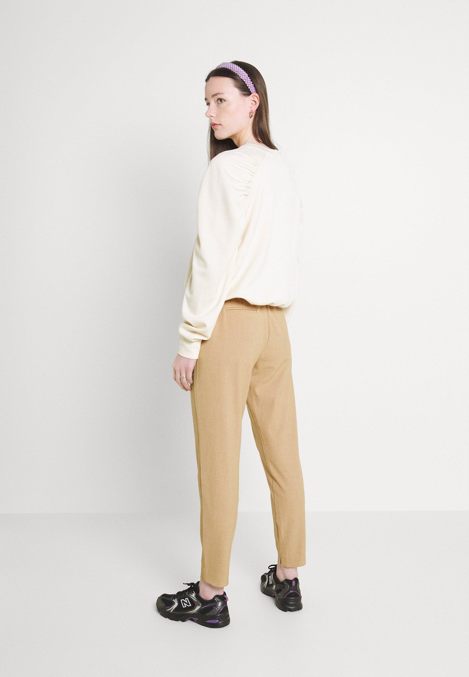 Femme DANTA PANTS CROP - Pantalon classique