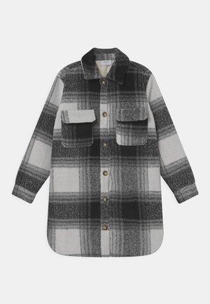 AASE LONG  - Short coat - grey melange
