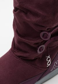 Kappa - CREAM UNISEX - Winter boots - purple/silver - 5
